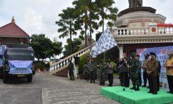 Korem 091/ASN & Pandita Buddha Maitreya Indonesia Kirim Bantuan Korban Banjir di Kalsel