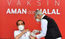 Presiden Jokowi Jadi yang Pertama Disuntik Vaksin Covid-19