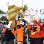 Satu Persatu Serpihan Tubuh Pesawat SJ-182 Terus Ditemukan