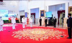 Presiden Lantik Gubernur dan Wakil Gubernur Kaltara dan Sulut Masa Jabatan 2021-2024