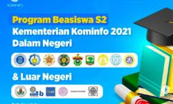 Kominfo Buka Pendaftaran Program Beasiswa S2 Dalam dan Luar Negeri Tahun 2021