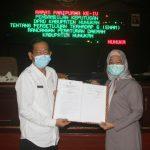 DPRD Nunukan Setujui 6 Raperda, Salah Satunya Penegakan Hukum Protokol Kesehatan