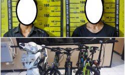Ditangkap Warga, Dua Remaja Bontang Maling Sepeda Diamankan Polisi