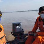 Armansyah Tercebur di Sungai Mahakam Samarinda Saat Memancing