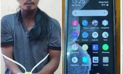 Gondrong, Warga Samarinda Buron Polisi Bontang Diringkus di Kutai Timur