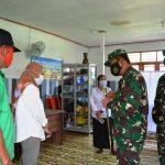 Danrem 091/ASN Cek Posko Terpadu PPKM & RT SIGAP Corona di Kukar