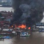15 Bangunan Terbakar di Samarinda Seberang