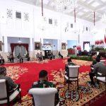 Presiden Instruksikan TNI & Polri Dukung Penuh Kebijakan Penanganan Pandemi