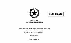 Pemerintah Terbitkan 49 Peraturan Pelaksana Undang-Undang Cipta Kerja