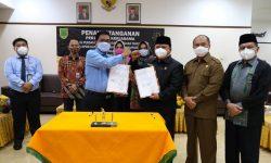 DPRD Berau dan KejariTandatangani Kerja Sama Perdatun