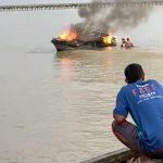 Speedboat Celebes Asal Tarakan Terbakar di Perairan Sebatik