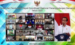 Presiden Jokowi Apresiasi Peran Besar BNPB Tangani Bencana