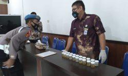 Peralatan Terbatas, Tes Urine Polres Nunukan Hanya Diikuti 25 Personil
