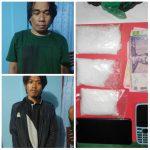 Dua Pedagang 150 Gram Sabu di Sebatik Tengah Ditangkap Polisi