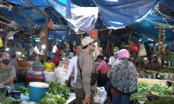 Pasar Sentral Nunukan Atapnya Bocor, Kayu Jabuk dan WC Buntu