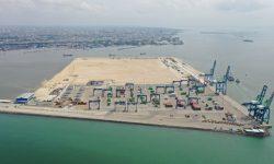 Progres Pembangunan Makassar New Port Tahap Lanjutan Capai 66,70%