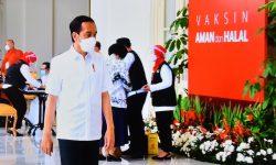 Varian Baru Korona, Presiden Imbau Masyarakat Tak Khawatir & Tetap Disiplin Prokes