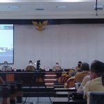 Perdana Ngantor, Bupati & Wabup Rapat Bersama OPD dan Camat se-Berau