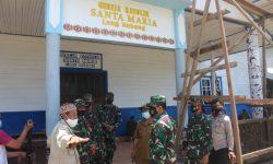 Danrem 091/ASN Cek Sasaran TMMD ke-110 di Mahulu, Mulai Masjid Hingga Bedah Rumah