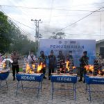 KPPBC Nunukan Musnahkan Produk Ilegal Asal Luar Negeri