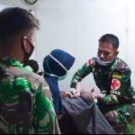 Menengok Satgas Yonif 611/Awl Bantu Proses Bersalin Warga di Tapal Batas Papua
