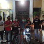 Gasak Dua Motor Parkir Depan Kos, Jukir di Samarinda Ditangkap