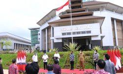 Presiden Jokowi Resmikan Kampus Baru Untirta di Serang, Banten