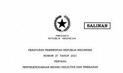 PP 27/2021 Jamin Kemudahan Usaha Perikanan Tangkap