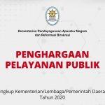 Termasuk Setkab, Inilah Daftar K/L dan Pemda Peraih Penghargaan Pelayanan Publik dari Kementerian PANRB