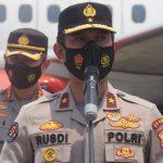 22 Terduga Teroris Hasil Operasi Densus 88 Diterbangkan ke Jakarta