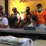 Polda Kaltim Gagalkan Penyelundupan 3 Kg Sabu 'Sultan', Satu Kilonya Rp850 Juta