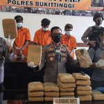 Polisi Gagalkan Peredaran 25 Kilogram Ganja