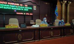 Hamsing Ketuai Pansus LKPJ Bupati Tahun 2020