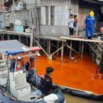 CPO yang Tumpah di Sungai Mahakam Dikabarkan Diangkut dari Kutai Timur