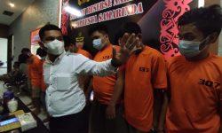 Polisi Tangkap 8 Pengedar Narkoba di Samarinda, Ada yang Bikin Ineks di Rumah