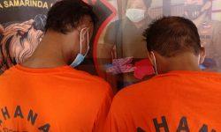 Dua Tukang Parkir di Abul Hasan Samarinda Maling Duit Toko Bangunan Rp30,2 Juta