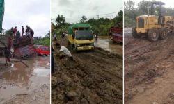 Kerusakan Jalan Poros Samarinda – Bontang Ganggu Distribusi Logistik