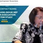 PLN Enjiniring Lakukan Studi Sistem Evakuasi Listrik pada PLTA Mentarang Induk