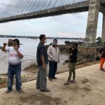 Andi Harun : Pekerjaan Dekat Tiang Jembatan Mahkota II Dihentikan Sementara