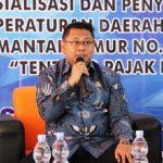 Sigit Wibowo Sosialisasi Perda Pajak Daerah di Uniba