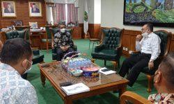 Direksi MBS Bahas Kelanjutan Pengelolaan MBTK dengan Bupati Kutim