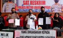 Polisi Ringkus Mafia Tanah Melibatkan Preman