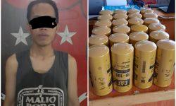 Pemuda Palaran Maling 24 Filter Oli di Gudang Logistik Harapan Baru Ditangkap