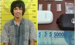 Nyambi Jual Sabu, Tenaga Kebersihan Kantor Lurah di Bontang Ditangkap