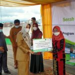 PT Berau Coal Bantu 30 Booth Untuk Pedagang Tepian Sambaliung