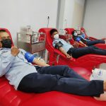 Penuhi Kebutuhan Darah di PMI Samarinda, Pegawai Rutan Ramai-ramai Donor