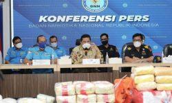Dari Aceh Hingga Kalimantan, BNN Sita 212,39 Kg Sabu dan 19.700 Butir Ekstasi