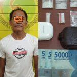 Usia Lewat Setengah Abad, Warga Bontang Ditangkap Gara-gara Jualan Sabu