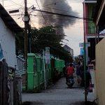 Satu Rumah di Samarinda Terbakar Jelang Buka Puasa