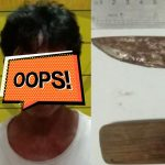 Warga Kutim Keluyuran Bawa Badik Ditangkap di Bontang